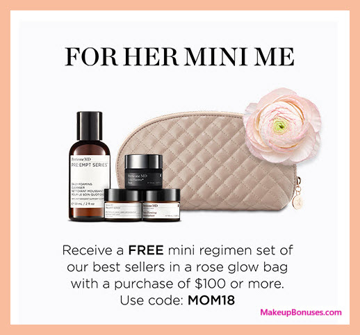 Receive a free 5-pc gift with $100 Perricone MD purchase