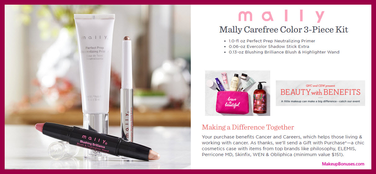 Mally Carefree Color 3-piece Kit - MakeupBonuses.com