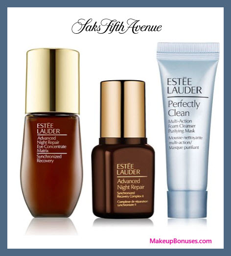 Receive a free 3-pc gift with $65 Estée Lauder purchase