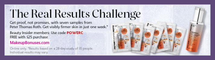 Receive a free 7-pc gift with $25 Multi-Brand purchase
