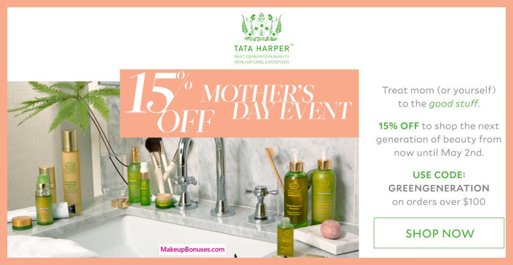 Tata Harper Sale - MakeupBonuses.com