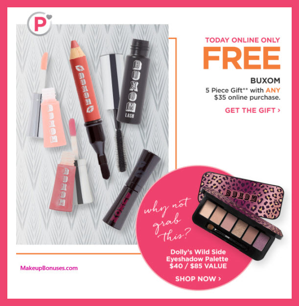 Receive a free 5-pc gift with Platinum Perk: $35 purchase