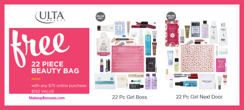 Receive your choice of 22-pc gift with $75 Multi-Brand purchase