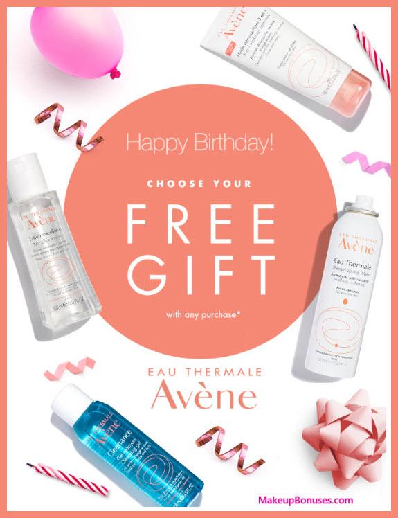 Avène Birthday Gift - MakeupBonuses.com #aveneusa