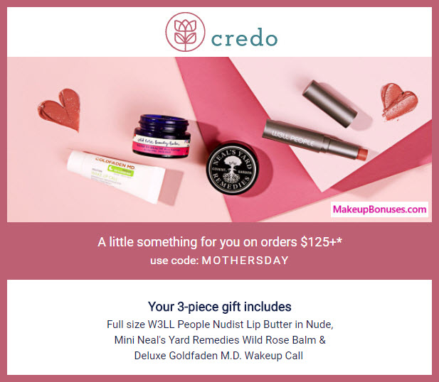 Receive a free 3-pc gift with $125 Multi-Brand purchase