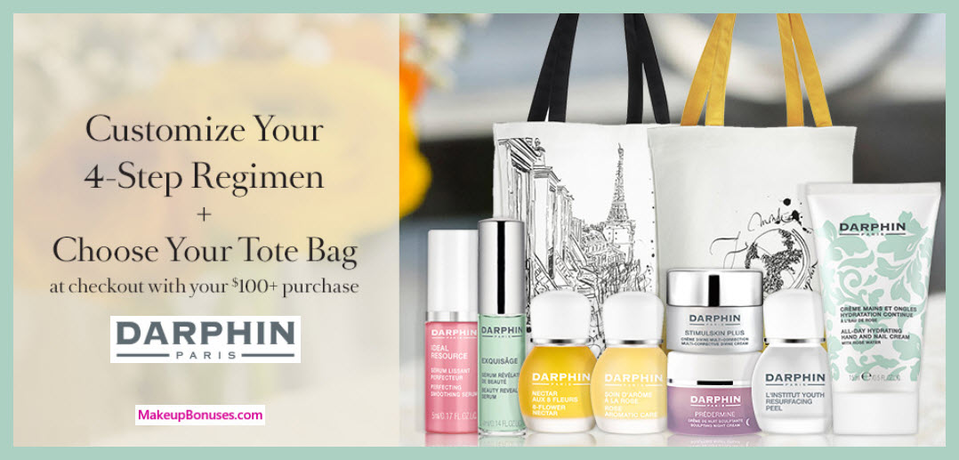 Receive your choice of 4-pc gift with $100 Darphin purchase