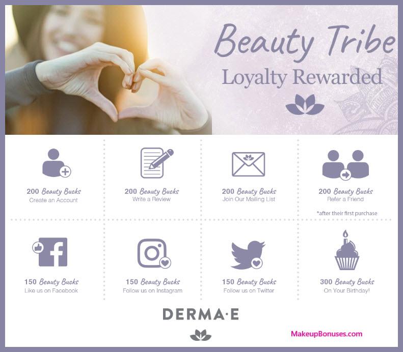 Derma E Birthday Gift - MakeupBonuses.com #DermaE #CrueltyFree #Vegan
