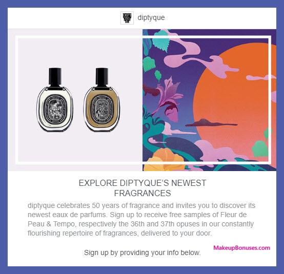 Diptyque Free Sample - MakeupBonuses.com