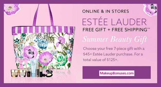Receive a free 7-pc gift with $45 Estée Lauder purchase