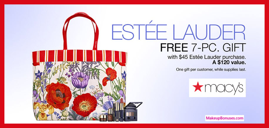 Receive a free 8-pc gift with $100 Estée Lauder purchase