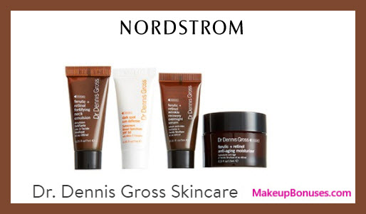 Receive a free 4-pc gift with $175 Dr Dennis Gross purchase