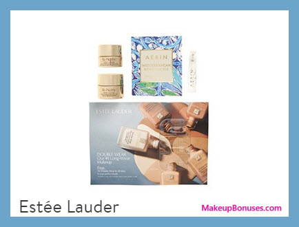 Receive a free 4-pc gift with $75 Estée Lauder purchase