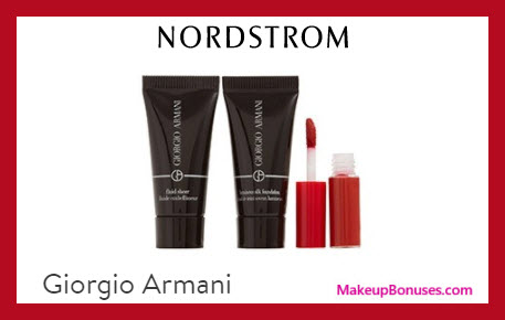 Receive a free 3-pc gift with $75 Giorgio Armani purchase