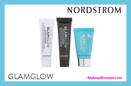 Receive a free 3-pc gift with $79 GlamGlow purchase
