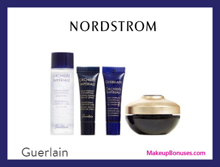 Receive a free 4-pc gift with $350 Guerlain purchase