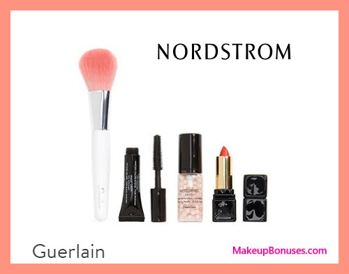 Receive a free 4-pc gift with $200 Guerlain purchase