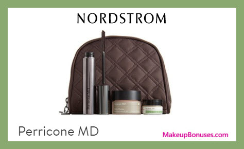 Receive a free 4-pc gift with $75 Perricone MD purchase