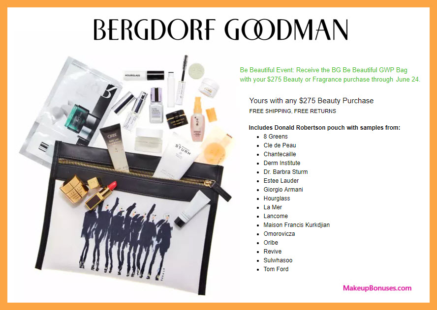 Receive a free 17-pc gift with $275 Multi-Brand purchase
