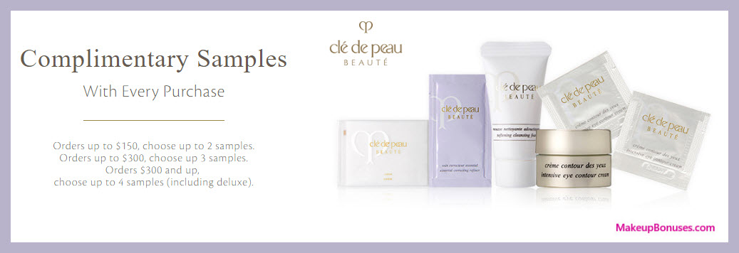 Receive your choice of 3-pc gift with $150 Clé de Peau Beauté purchase