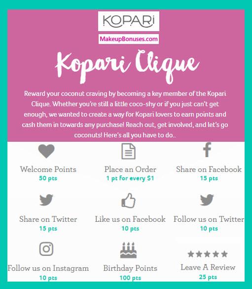 Kopari Birthday Gift - MakeupBonuses.com #KopariBeauty #CrueltyFree