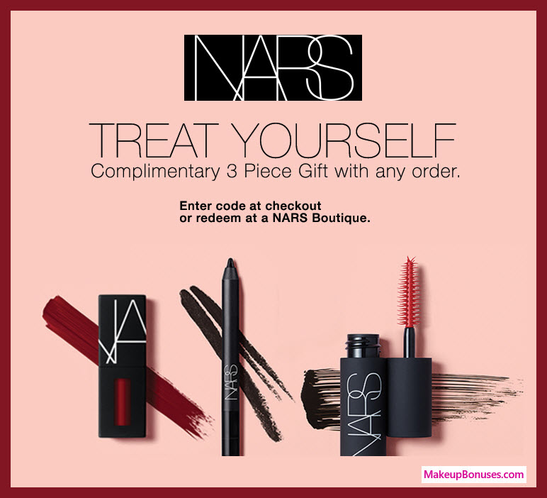 NARS Cosmetics Birthday Gift