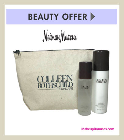Receive a free 3-pc gift with $150 Colleen Rothschild purchase