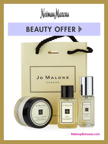 Receive a free 3-pc gift with $174.99 Jo Malone purchase