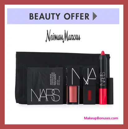 Receive a free 5-pc gift with $125 NARS purchase