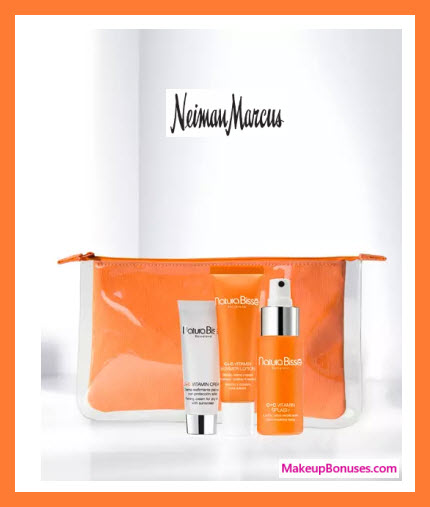 Receive a free 3-pc gift with $300 Natura Bissé purchase