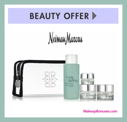Receive a free 5-pc gift with $350 RéVive purchase
