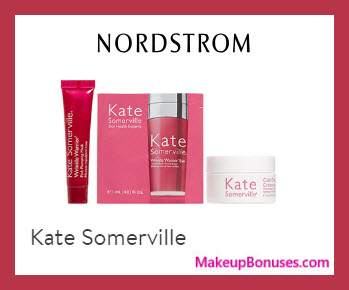 Receive a free 3-pc gift with $150 Kate Somerville purchase