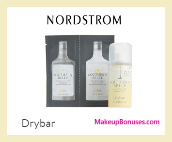 Receive a free 3-pc gift with $50 drybar purchase
