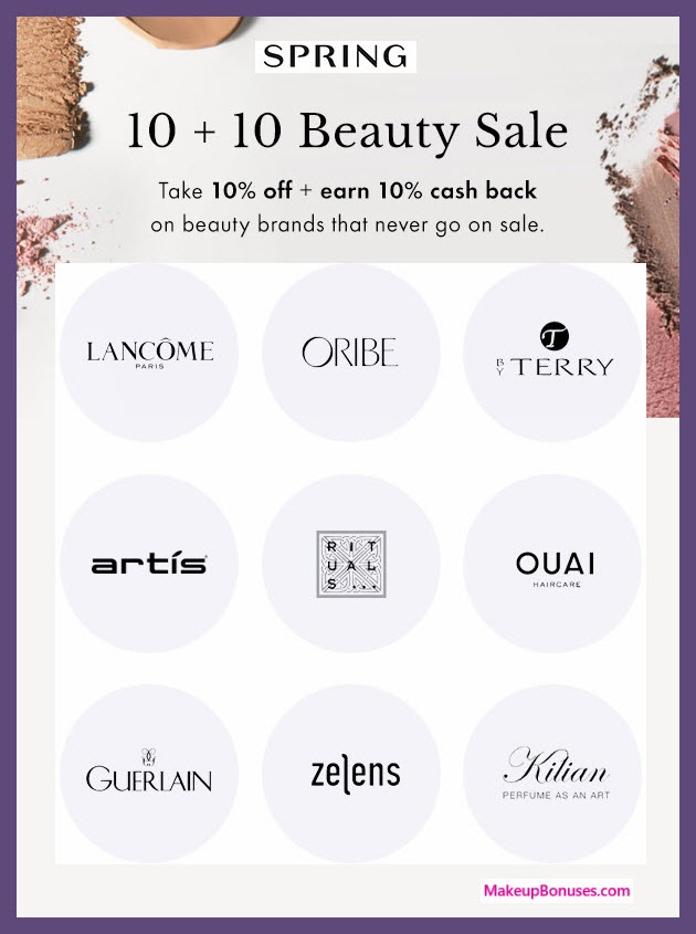 Spring Beauty Discounts - MakeupBonuses.com