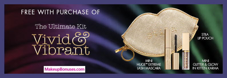 Receive a free 3-pc gift with The Ultimate Kit Vivid & Vibrant ($308) purchase
