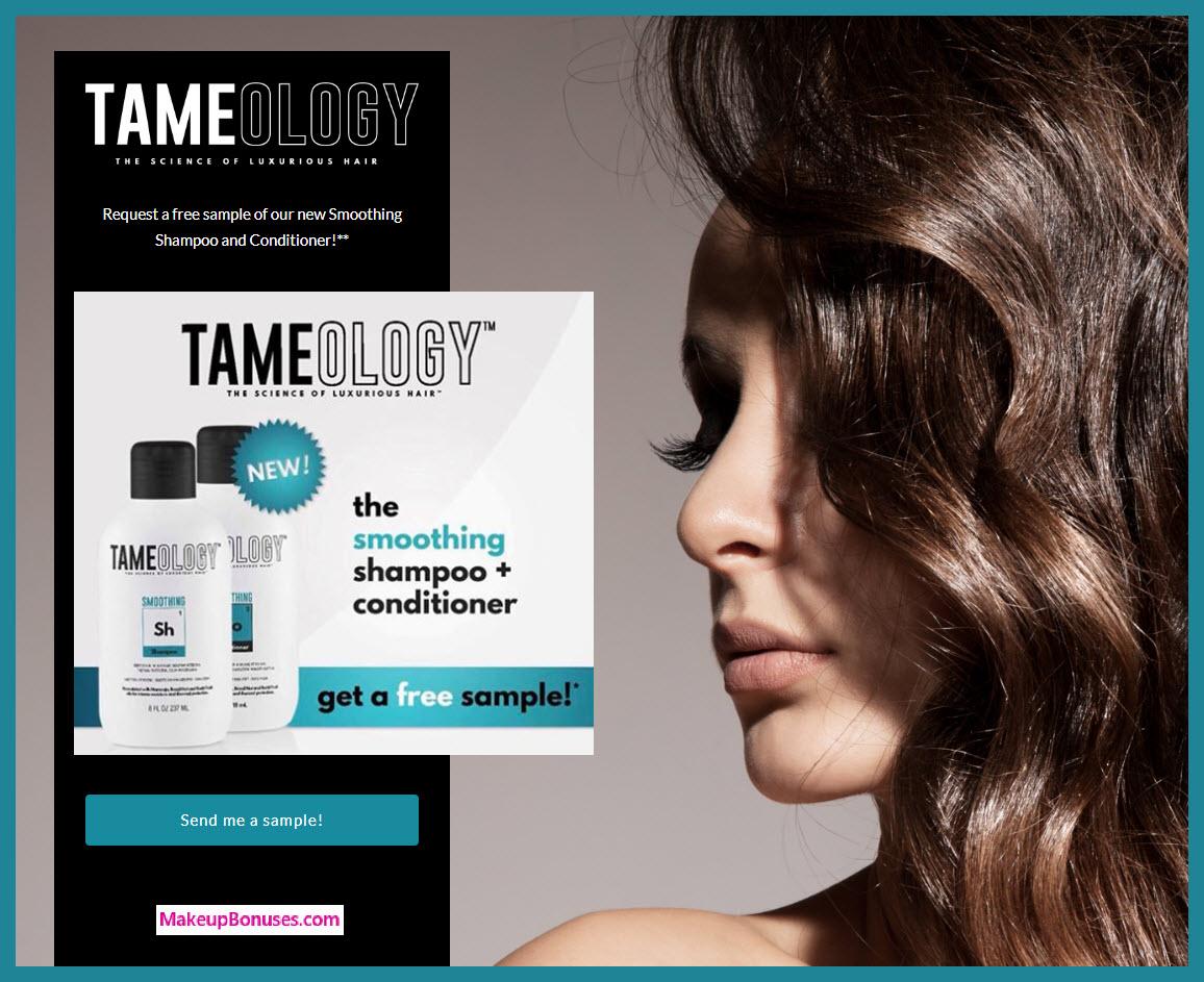 Tameology Free Sample - MakeupBonuses.com