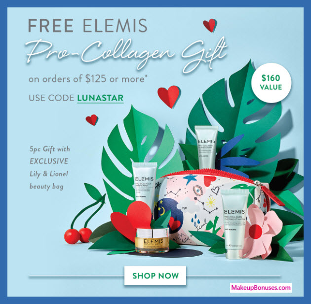 Receive a free 5-pc gift with $125 Multi-Brand purchase