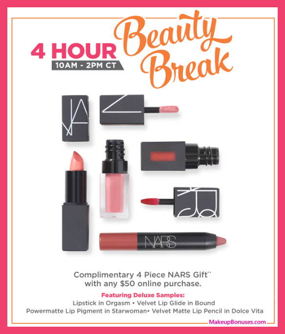 Receive a free 4-pc gift with $50 Multi-Brand purchase