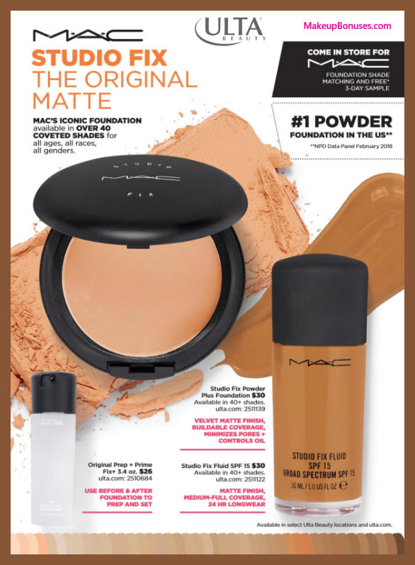 MAC Cosmetics Free Sample - MakeupBonuses.com