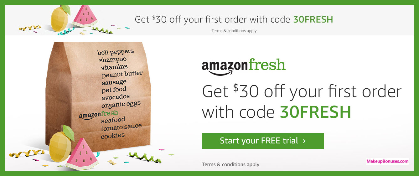 Amazon Fresh Prime Day Special Offer - MakeupBonuses.com