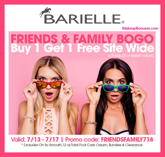 Receive a free 3-pc gift with $3 Barielle purchase