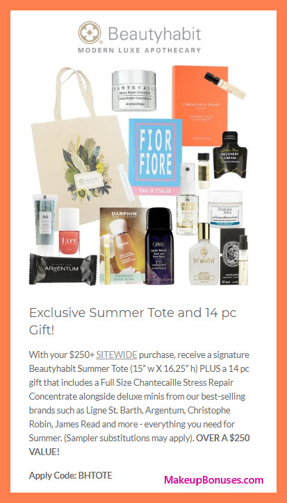 Receive a free 15-pc gift with $250 Multi-Brand purchase