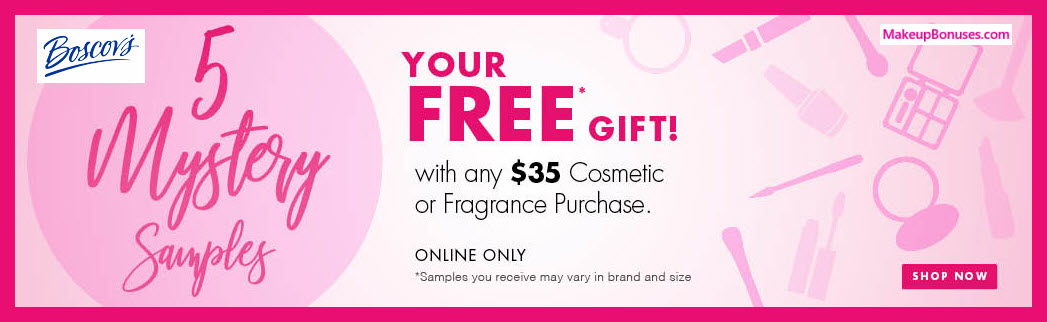 Receive a free 5-pc gift with $35 Multi-Brand purchase