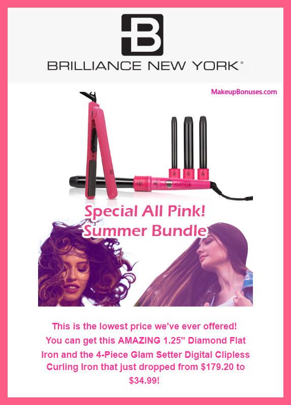 Brilliance New York 80% Off Styling Set - MakeupBonuses.com