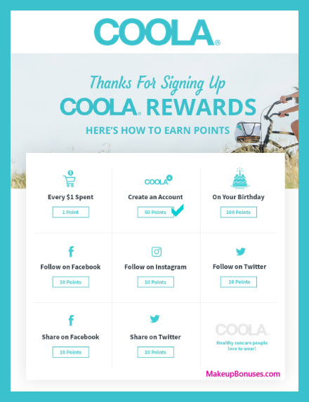 COOLA Birthday Gift - MakeupBonuses.com #coola #CrueltyFree