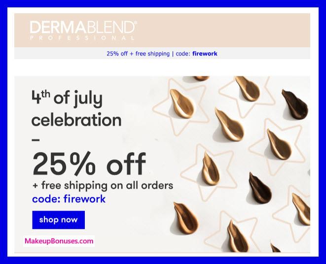 Dermablend Sale MakeupBonuses.com