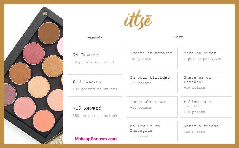 Ittse Birthday Gift - MakeupBonuses.com #ittsecosmetics #CrueltyFree