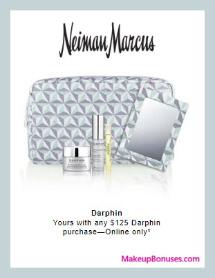 Receive a free 5-pc gift with $125 Darphin purchase