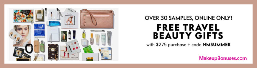 Receive a free 30-pc gift with $275 Multi- Brand purchase