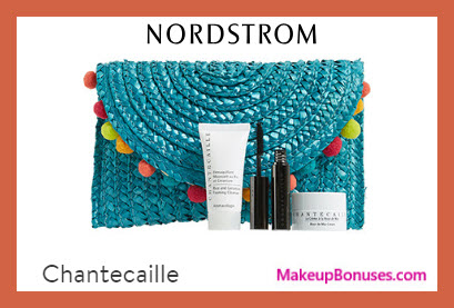 Receive a free 4-pc gift with $275 Chantecaille purchase