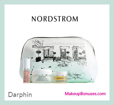 Receive a free 4-pc gift with $125 Darphin purchase